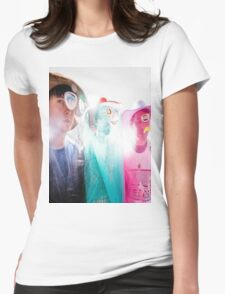 Animal Collective Magazine Pieces  Womens Fitted T-Shirt