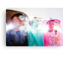 Animal Collective Magazine Pieces  Canvas Print