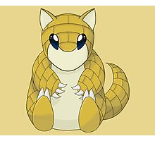 Pokemon Sandshrew Photographic Print