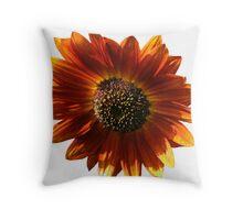 Brown Sunflower  Throw Pillow