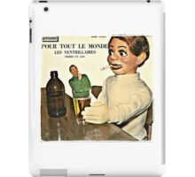Vintage Record Smoking Puppet iPad Case/Skin