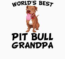 World's Best Pit Bull Grandpa Unisex T-Shirt