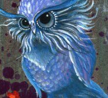 Old Fellow Owl Sticker