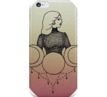 Triple Moon Babe iPhone Case/Skin
