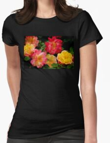 Rose 374 Womens Fitted T-Shirt