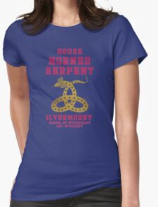 HORNED SERPENT - Ilvermorny House Womens Fitted T-Shirt