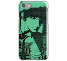 COWBOY BEBOP #11 iPhone Case/Skin
