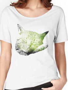 Sleeping Cat Women's Relaxed Fit T-Shirt