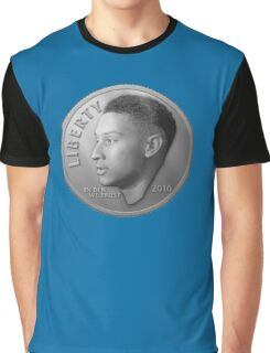 Dimes Look Different in Philly - Ben Simmons (Dime Only Variant) Graphic T-Shirt