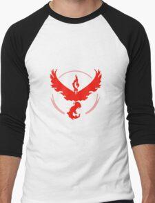 Pokemon GO Red Team Valor Men's Baseball ¾ T-Shirt