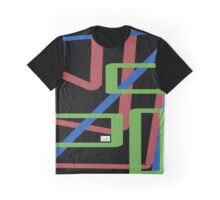 Roy G Bev Black Graphic T-Shirt