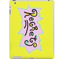 Rugrat Regrets iPad Case/Skin