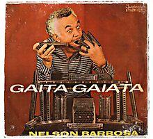 Vintage Record Gaita Gaiata Photographic Print
