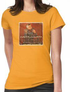 Vintage Record Gaita Gaiata Womens Fitted T-Shirt