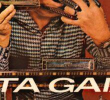 Vintage Record Gaita Gaiata Sticker