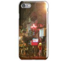 Grant Street at Night iPhone Case/Skin