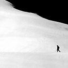 Der einsame Wanderer... by Angelika  Vogel