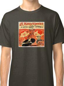 Vintage Cartoon Record Classic T-Shirt