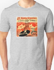 Vintage Cartoon Record Unisex T-Shirt