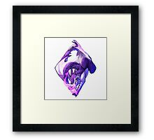 Ace of Dragons: Diamonds Framed Print