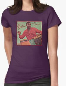 Beating Time Vintage Record Womens Fitted T-Shirt