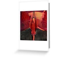 Hot Wings Greeting Card