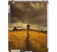 Lonely house on the hill iPad Case/Skin