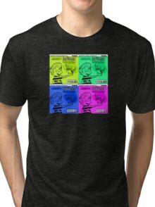 Vintage Cartoon Tri-blend T-Shirt