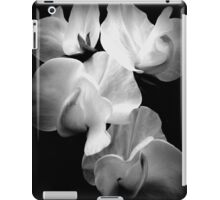 Sweet-pea on black  iPad Case/Skin