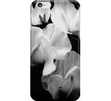 Sweet-pea on black  iPhone Case/Skin