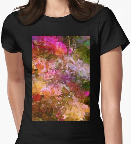 Abstract 276 Womens Fitted T-Shirt