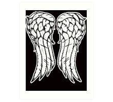Dixon Wings Art Print