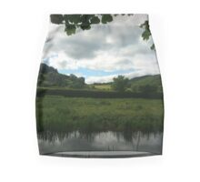 Water Earth Sky - Walk Along The Canal 2 Mini Skirt