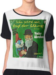 Vander Abraham Smurf Chiffon Top