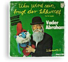 Vander Abraham Smurf Canvas Print