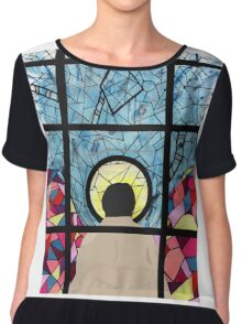 Stained Glass Castiel Chiffon Top