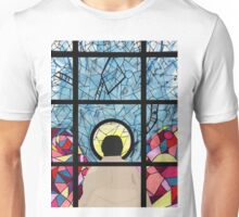 Stained Glass Castiel Unisex T-Shirt
