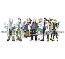 Pokemon Professors Photographic Print