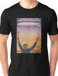 Soviet Russia Zeppelin Poster Unisex T-Shirt