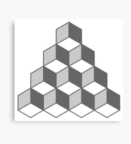 Cube Illusion Canvas Print