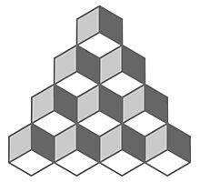 Cube Illusion Photographic Print