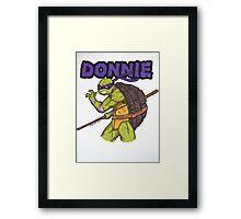 Donnie Framed Print