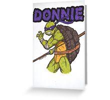 Donnie Greeting Card