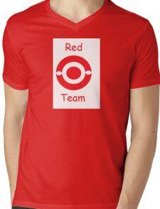 pokemon team red Mens V-Neck T-Shirt
