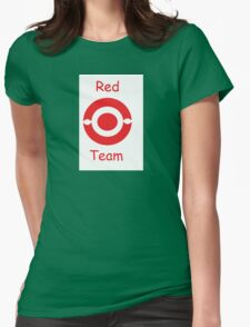 pokemon team red Womens Fitted T-Shirt