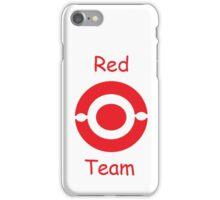 pokemon team red iPhone Case/Skin