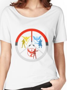 Pokemon Go Teams Women's Relaxed Fit T-Shirt