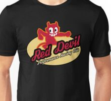 Red Devil Hot Rod logo Unisex T-Shirt