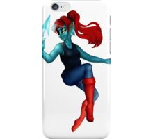 Pin Up Undyne ! iPhone Case/Skin