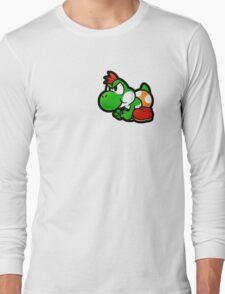 Paper Yoshi Long Sleeve T-Shirt